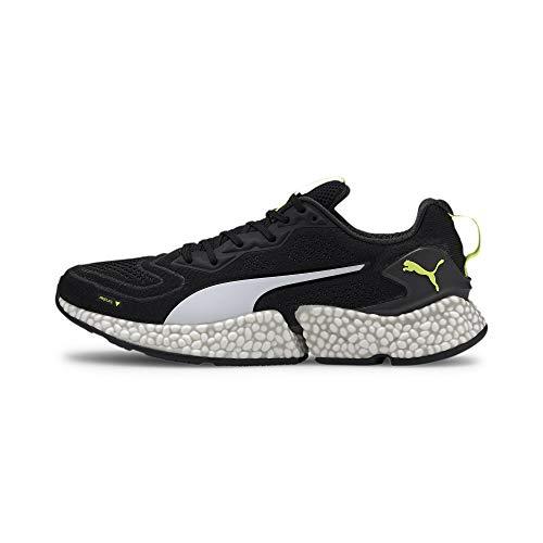 PUMA Speed ORBITER, Zapatillas de Running para Hombre, Negro Black/Yellow Alert White, 43 EU