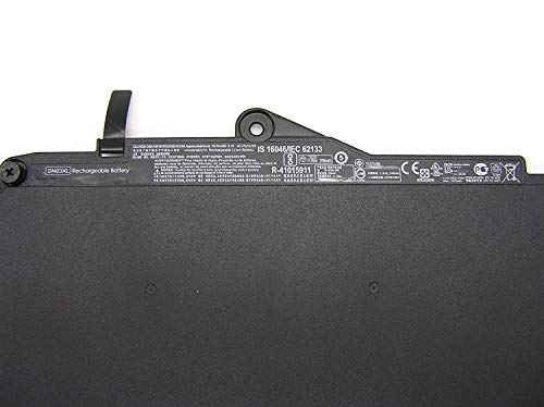 Hubei 11.4V 44Wh SN03XL Batería para portátil Compatible con HP EliteBook 820 G3 725 G3 SN03XL SN03044XL HSTNN-DB6V 800232-241 800514-001
