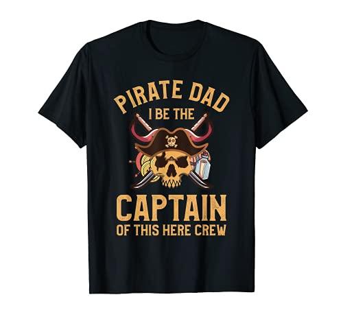 Hombre Pap Pirata Soy el Capitn De Este Aqu Tripulacin Camiseta