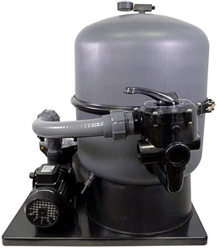 well2wellness® Pool Sandfilteranlage Sandy.Stream 500 mit Filterpumpe Mida.Alpha 13