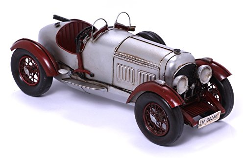 BSZ Modellauto - Bentley 4 1/2 Liter - Retro Blechmodell