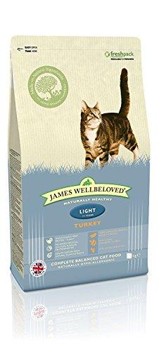 James Wellbeloved hondenvoer voor volwassen katten, kalkoen en rijst, 4 kg