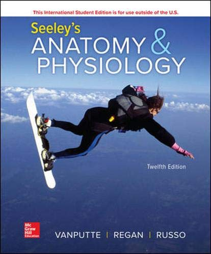 Seeley's Anatomy & Physiology, 12th Edition Front Cover