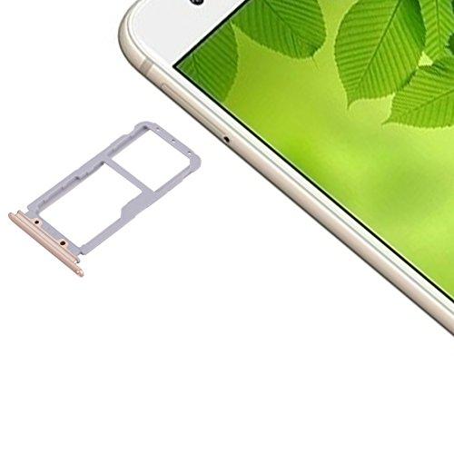 BEIJING  SIMSDCARDTRAY+ / for Huawei Nova 2 Plus Tarjeta SIM Trays & SIM/Micro SD Tarjeta Bandeja, Piezas de Repuesto para teléfonos Inteligentes (Color : Gold)