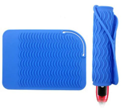 Wave Silicone Hair Straightener Heat Insulation Pad Non-slip Anti-scalding Silicone Place Mat Bowl Mat Pot Mat