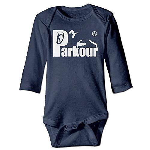 FULIYA Body de manga larga para beb con diseo de oruga, unisex, para beb, para beb, de manga larga, color azul marino