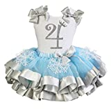 Package included: 1x Tank Top and 1X Skirt Material: Cotton and Polyester High quality cotton tee with matching tutu. This beautiful tutu with bow and satin trim. The tutu is made with yards of polyester chiffon and is lined with beautiful pieces of ...