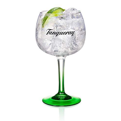 G+L GmbH Tanqueray Copa Glas, Gin Tonic, Bauchiges Longdrink, Alkohol Drink Glas, 500 ml