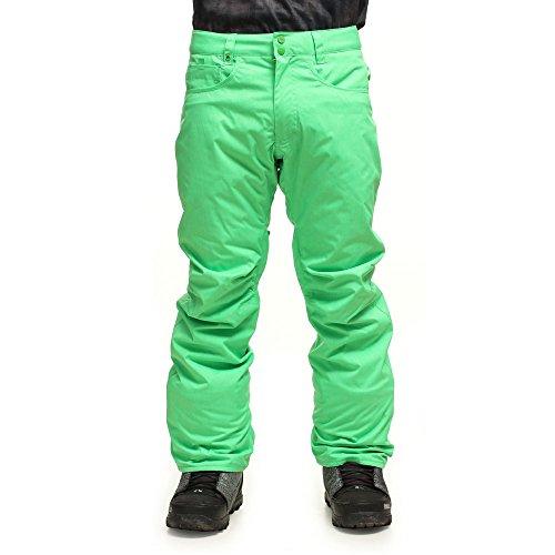 Quiksilver Snowboard Hose State Pants - Mono de esquí para Hombre, Color Verde, Talla M