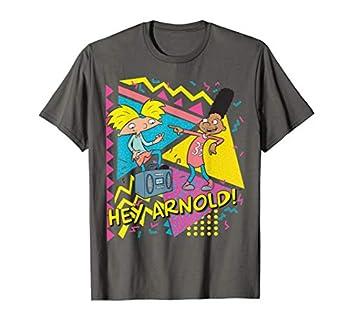 Hey Arnold Gerald Best Friends Boombox Graphic T-Shirt