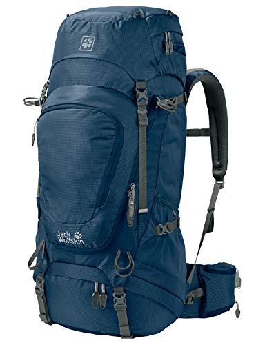 Jack Wolfskin Highland Trail XT 50 Wandern Outdoor Trekking Rucksack, Poseidon Blue, ONE Size