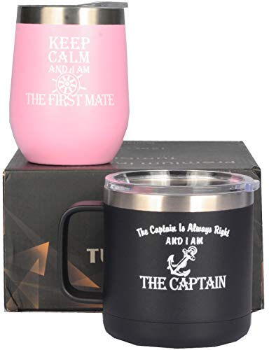 The Captain is Always Right and I am the Captain, Keep calm and I am the first mate, Captain Tumbler, First Mate Tumbler, Boat Captain Gifts, Gifts for Boaters, Boating Gifts, Boat Captain Gifts