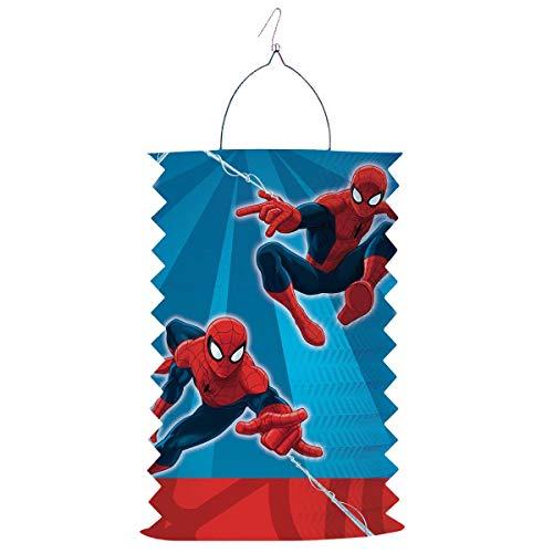 Zuglaterne 28cm hoch Spiderman
