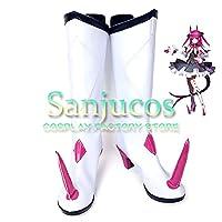 エリザベート・バートリー FGO フェイト/グランドオーダー Fate/Grand Order Lancer ランサー コスプレ 靴 ブーツ コスプレ靴 cosplay オーダーサイズ/スタイル 製作可能 【Sanjucos】(23cm)