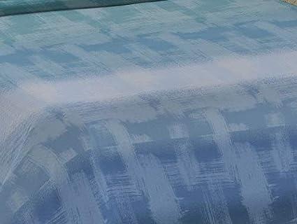 Edred/ón Estampado a la Francesa Fabricado en Italia Azul 220x280 Ligera Colcha cubrecama de algod/ón para Cama de Matrimonio Homelife Colcha Fina de Verano y Primavera para Cama de 135 cm