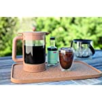 Bodum Bean Cold Brew Coffee Maker, Press, Plastic, 1.5 Liter, 51 Ounce, Black 9 Innovative locking lid system keeps your coffee hot and helps prevent spills Includes two lids; one for the fridge overnight, and one with plunger No paper filters required, means more flavor without any waste
