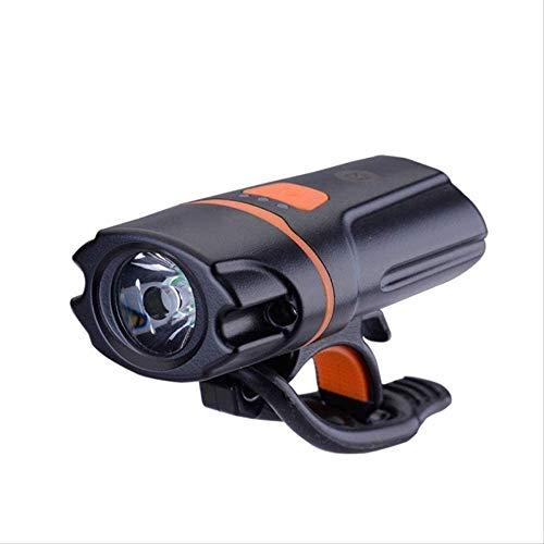 Kyman Scheinwerfer, Fahrrad-Licht-Set, USB nachladbare wasserdichte Frontscheinwerfer und Rückscheinwerfer Lumen Super Bright Scheinwerfer Frontleuchten und Rückseite hinten LED, Berg, Straße