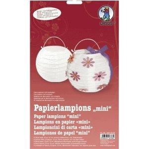 Ludwig Bähr Papierlampinion Mini Durchmesser 10cm weiß VE=6 Stück