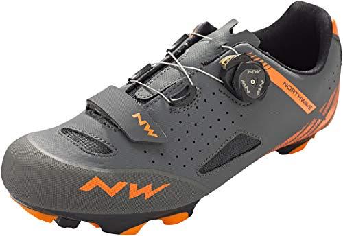 Northwave Zapatillas MTB Origin Plus Gris/Naranja - Talla: 44
