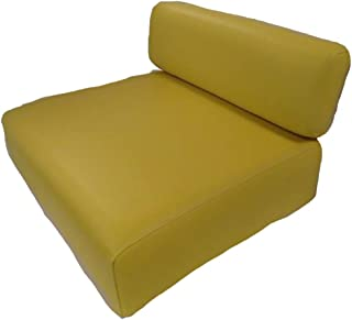 New for John Deere Tractor Yellow Back Rest & Seat Cushion Set 40 320 330 420 M MT +