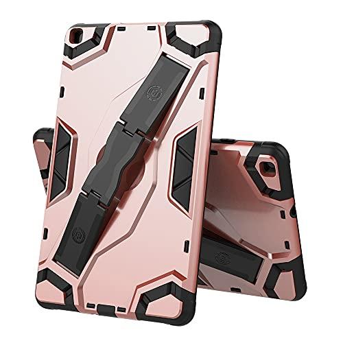 ZHIWEI Tablet PC Bolsas Bandolera Tablet Funda para Samsung Galaxy Tab A8.0 2019 T295-T290, TPU + PC Funda Protectora multifunción a Prueba de Golpes con asteroide Plegable (Color : Pink)