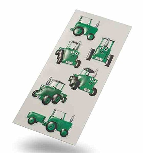 Tractor Ted 3D Stickers (6 Stickers) | Reward Stickers, Party Bag Fillers, Gifts