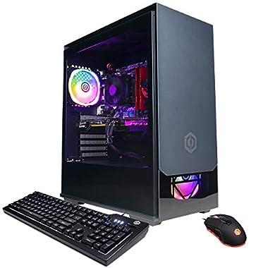 CYBERPOWERPC Gamer Master Gaming PC, AMD Ryzen 5 3600 3.6GHz, 16GB DDR4, GeForce GTX 1650 Super 4GB, 500GB NVMe SSD, 1TB…