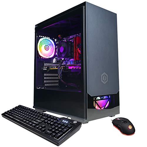 CYBERPOWERPC Gamer Master Gaming PC, AMD Ryzen 5 3600 3.6GHz, 16GB DDR4, GeForce GTX 1650 Super 4GB, 500GB NVMe SSD, 1TB HDD, WiFi Ready & Win 10 Home (GMA890A)