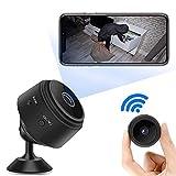 1080P HD Mini Camara de Vigilancia,Portátil WiFi Cámara co