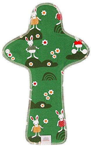 Moon Pads máximo–protege-slip bio lavable de algodón Rabbits Limited Edition