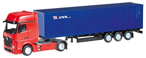 herpa 066471 - Mercedes-Benz Actros Gigaspace Container-Sattelzug NYK