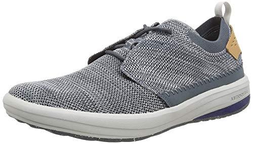 Merrell Herren Gridway Sneaker, Grau (Turbulence), 44 EU