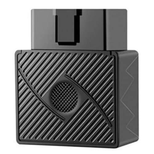 HaiMa Localizador Gps Para Coche Pequeño Obd Tracker Vehículo Dispositivo De Rastreo Alarma De Robo De Seguridad - Negro