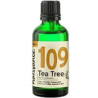 Naissance Aceite Esencial de Árbol de Té Bio n. º 109 – 50ml - 100% Puro, Vegano, Certificado ecológico y no OGM
