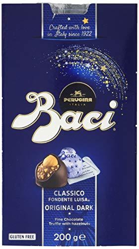 Baci Perugina Pralinen mit dunkler Schokolade und Haselnussfüllung Box, 2er Pack (2 x 200 g)
