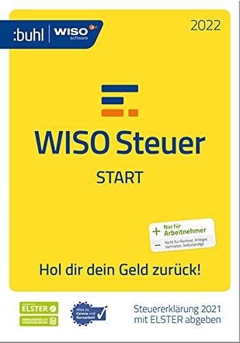 WISO Steuer-Start 2022: Steuererklärung 2021 mit ELSTER abgeben (WISO Steuer-Software)
