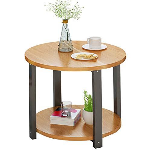 Xuping kleine ronde tafel koffietafel, eenvoudige bank tegen de muur halfronde tafel slaapkamer nachtkastje kinderen studie tafel bijzettafel