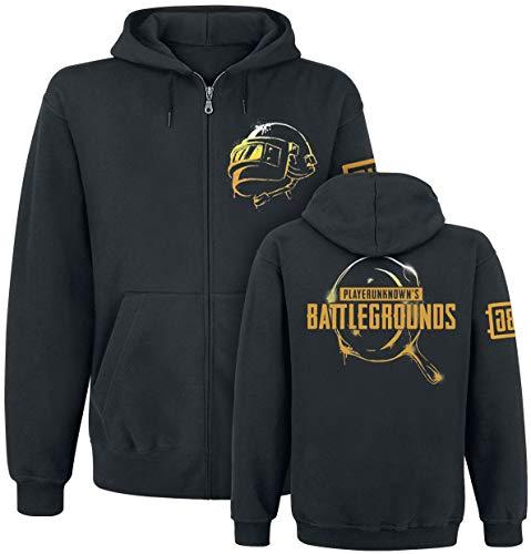 Playerunknown's Battlegrounds PUBG Kapuzen Jacke Pan Weapon Pfanne schwarz - S