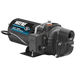 WAYNE SWS50 1/2 HP Cast Iron Shallow Well Jet Pump
