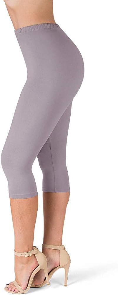 SATINA High Waisted Ultra Soft Leggings   1