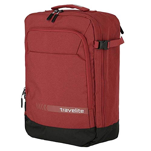 Travelite Unisex Kick Off Backpack Cabin Luggage Kick Off Backpack/Cabin Luggage Red, red (Red) - 6912-10