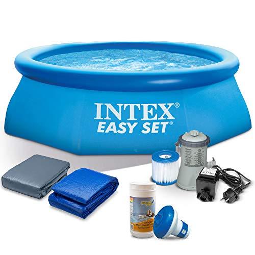 Global Set Schwimmbecken Pool 244 x 76 cm mit Zubehör INTEX 28110