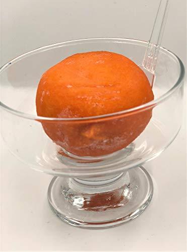 冷凍あんぽ柿(徳島産) 小サイズ 2個 【消費税込み】徳島産 無添加 干しあんぽ柿の短い旬の美味を凍らせました。徳島産 贅沢なあんぽ柿です。