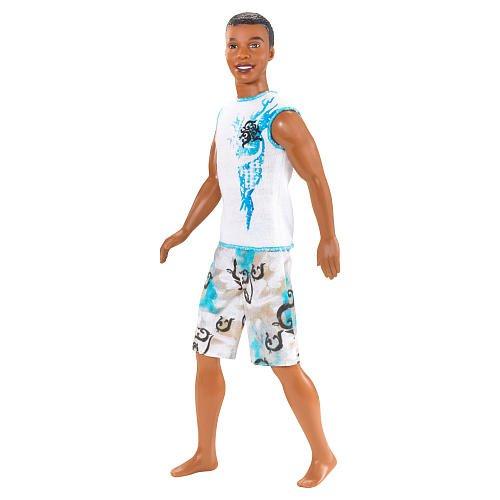 Barbie -Un cuento de sirena -STEVEN - Surfista afroamericano