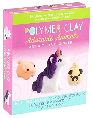 Polymer Clay: Adorable Animals: Art Kit for Beginners