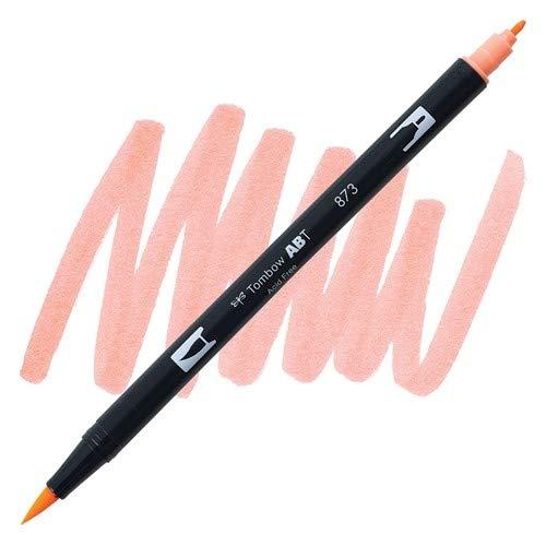 Dual Brush Pen Tombow Coral 873