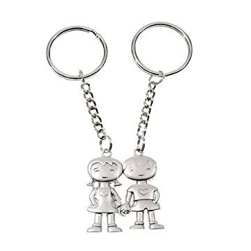 holding hands couples keychains