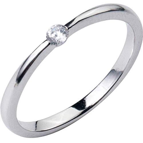 S925 zilveren ring dames Koreaanse mode Temperament enkele diamanten ring persoonlijkheid eenvoudige fijne ring kinderen, S925 zilveren ring, EEH 14 ZILVER
