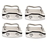 Rannb Chest Trunk Handle Pull Handles for Toolbox Lifting Door Chest - Pack of 4 (Medium)