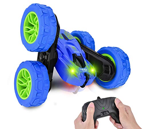 RC Car Toys for 5-12 Year Old Kids Remote Control Car Stunt Cars, 360 Degree Rotating 4WD RC Car, Best Boys Gift
